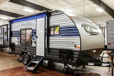 New 2020 Wolf Pup 16FQ Ultra Lite Rear Bath Travel Trailer Small Camper For Sale