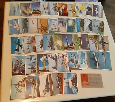 Power For Peace 1954  Partial Set Of 45 Bowman Non Sports Cards