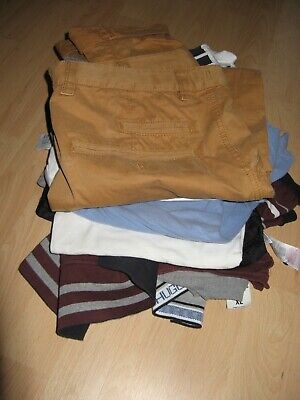 Boys Mixed Summer Clothes Bundle New Jeans 4 Short Sleeve T-Shirts Age 14-15-16