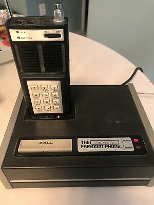 Electra Company 1980 The Cordless Pro Freedom Phone Early Technology