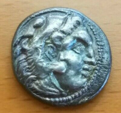 Authentic Original Drachm - Alexander III the Great 336-323 BC Silver Coin