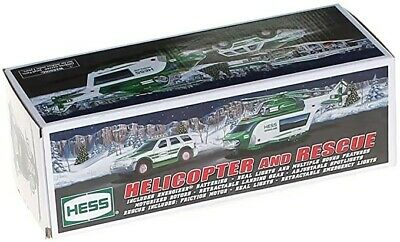 """2012 HESS """"HELICOPTER AND RESCUE"""" **New in Box**"""
