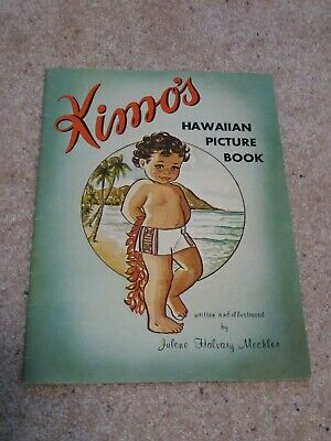 Kimo's Hawaiian Picture Book by Julene Halvary Mechler 1969