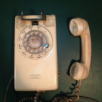 Vintage Bell Systems Wall Phone 1963 - Tested Working
