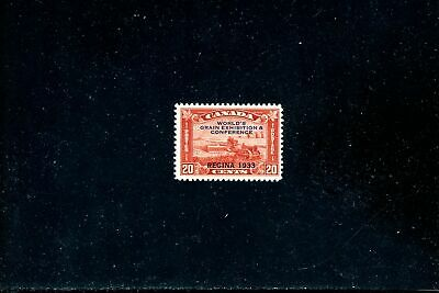 Lot 84299 Mint H 203 Harvesting Wheat Overprint  Stamp Canada