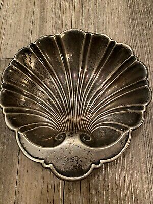 Gorham Stirling Silver 925 Shell Candy/nut Dish