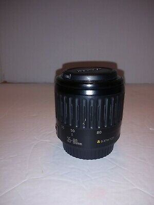Canon EF 35-80 1:4-5.6 Zoom Lens