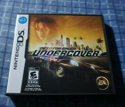 Need For Speed Undercover Nintendo DS COMPLETE Very good