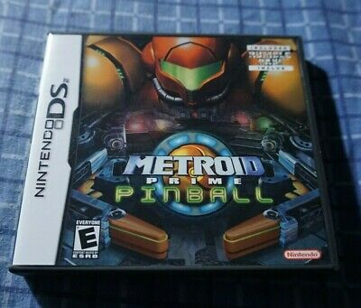 Metroid Prime Pinball DS ORIGINAL CASE + COVER INSERT ONLY NO GAME