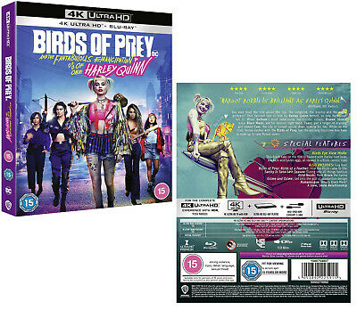 BIRDS OF PREY And the Fantabulous Emancipation of One Harley Quinn: 4K + BLU-RAY