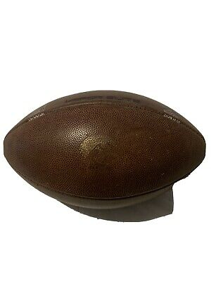 Iowa Hawkeyes Football Game And Practice Used Ball - Rare!