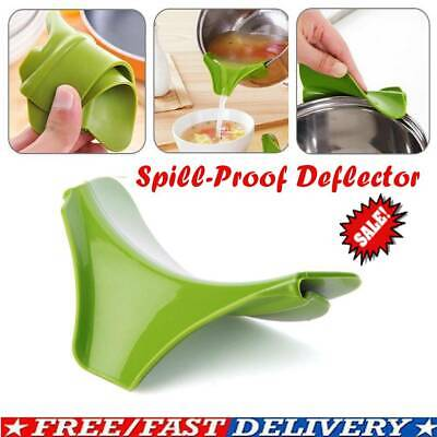 Silicone pour Soup Funnel Kitchen Gadget Tools Water Cooking hot Deflector I7W5