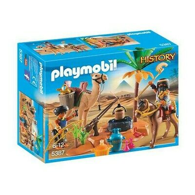 Playset History Egyptian Camp Playmobil 5387