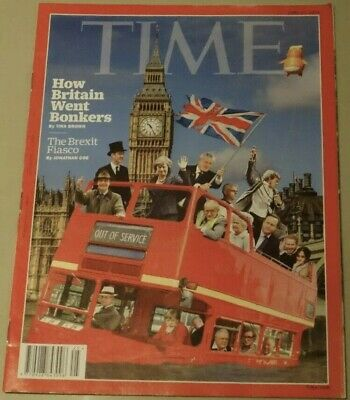 TIME Magazine 2019, Brexit Fiasco, How Britain Went Bonkers, B Johnson,Collector