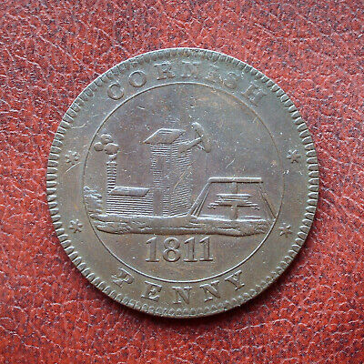 Cornwall 1811 copper penny token
