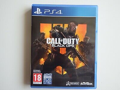 Call of Duty: Black Ops IIII (4) on PS4 in NEAR MINT Condition