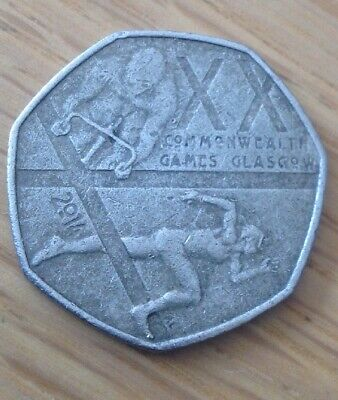 Rare & Valuable UK 50p Pence Coins Circulated Beatrix Potter London Olympics WWF