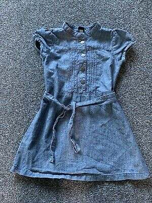 Girls Age 6 Denim Dress From Gap Short Sleeved Summer Outfit