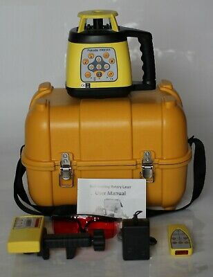 FRE301 Automatic Rotary Laser Level with Tripod and Staff