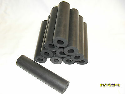 24 - six inch heavy foam rubber tubes for handles, exercise