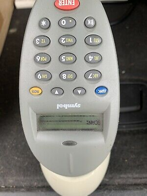 SYMBOL P460sr1214100ww SCANNER  CONDITION, Works As It Should Used No Pwr Cord