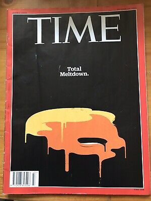 TIME Magazine 2016 Double Issue: Total Meltdown Donald Trump Edel Rodriguez Cove