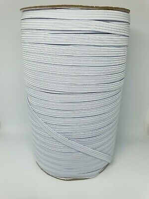 2m  Flat Elastic  Cord Sewing  Braided 5mm  Elastic For Sewing Masks Clothes