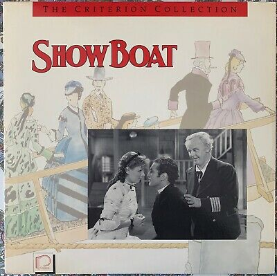 Show Boat - Criterion Collection #44 laserdisc - Rare - James Whale Paul Robeson