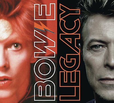"David Bowie "" Legacy 2 Disc Cd Set "" Brand New And Sealed"