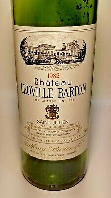 1982 Chateau Leoville Barton Wine Bottle - Empty - No Cork