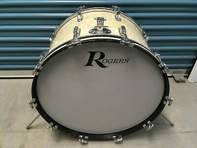 Vintage Rogers 14X24 Wmp Bass Drum. Buddy Rich