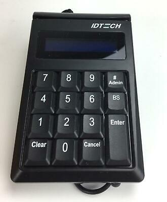 NEW - IDTech Secure Key M130 Encrypted Keypad MagStripe Reader IDKE-534833BL