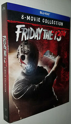 Friday the 13th: Ultimate Collection 8 Movies - Blu-ray Box Set - Region Free