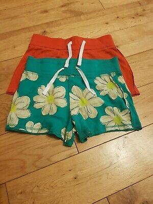 Next Girls Jersey Summer Shorts Pairs Age 9yrs & 10yrs - Immaculate Condition