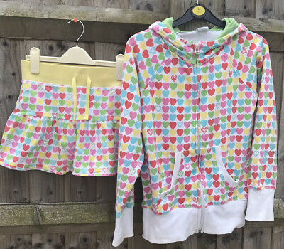 Next Girls Hoodie And Matching Skirt Age 13/14 Ideal For Summer/beach