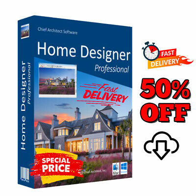 Chief Architect Home Designer Pro 2020 🔥 Life time License 🔥 FAST DELIVERY 30s