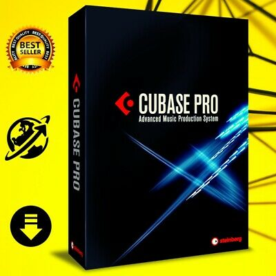 Cubase Pro 10.5  premuim Lifetime Full Version for Win 64 bits Fast Delivery