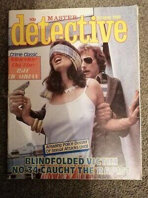 master detective magazine october 1980 good condition for age