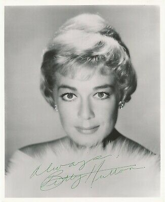 Betty Hutton- Vintage Signed Photograph