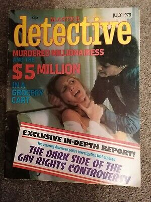 master detective magazine july 1978 good condition for age