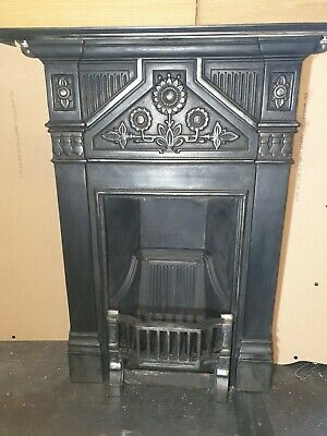 "Old Cast Iron Fire place Victorian style   ""Daisy""Cast Iron fireplace by Gallery"