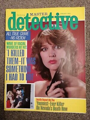 master detective magazine january 1983 good condition for age