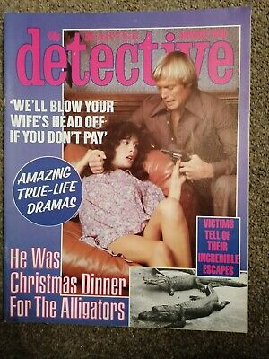 master detective magazine January 1980 good condition for age