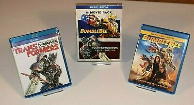 Bumblebee + Transformers Ultimate 5 Movie Collection, Blu-Ray + Digital Copies