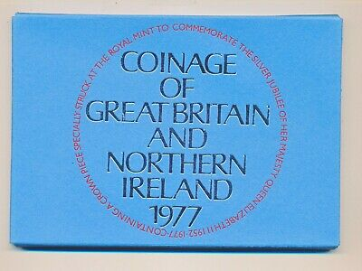 1977 Coinage Of Great Britain And Northern Proof Set