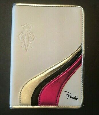 EMILIO PUCCI Miss Pucci Cardholder White Silver Black Pink