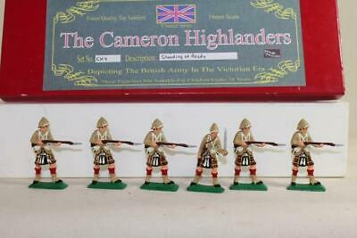 Nicholson Miniatures-Cameron Highlanders Standing at the Ready CH-4. MIB