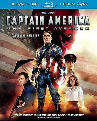 Captain America: The First Avenger (Blu-ray, 2011, Canadian)
