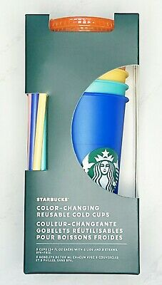 Starbucks Summer 2020 Color🌈 Changing Cold Cups🔥