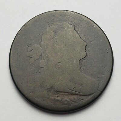 1798 Draped Bust Large Cent Poor Dent At Date